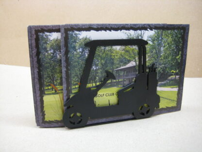 Golf Cart Card Holder