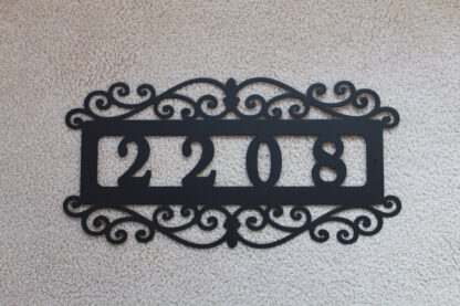 Custom Address Sign