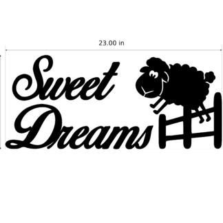 Sweet Dreams With Jumping Sheep